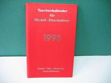 Taschenkalender für Modell-Eisenbahner 1993 Faller, Verfasser Bernhard Stein