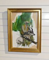 "Original Oil On Board Hunting Scene Signed ""Shield"""