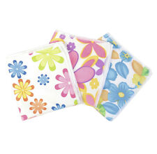 Home Edition Floral Flower Print Multi Purpose Microfibre Cleaning Cloths, 3 PK