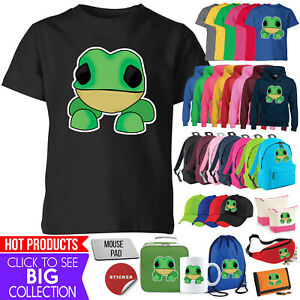 Frog Adopt Me Kids T Shirt Funny Novelty Gift Gaming Boy Girl Tee Hoodie Top Lot