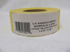 Hanson C H 17024 300-Ft. Yellow Flagging Tape