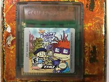 Rugrats in Paris Nintendo Gameboy Color GBC Cleaned Tested Authentic Game Boy