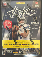2017 Panini Absolute Football Blaster Box NFL Mahomes Rookie Auto? prizm optic