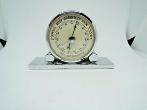 Art Deo,Miniatur Präzisions Barometer