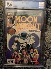 Moon Knight #1 CGC 9.6 MCU Bronze key! Origin of Moon Knight and 1st Bushman