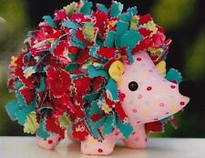 PATTERN - Hollie Hedgehog - cute softie toy PATTERN by Melly and Me