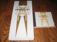Madonna The Immaculate Collection  longbox and Original cd! -Rare!