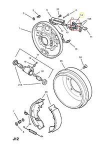 (1) BOOT - Parking Brake Lever RH GENUINE GM / ISUZU 94230547 8-94230547-0