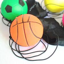 Wrist  Bounce Ball Elastic Rubber Ball With Elastic String High Bounce Ball