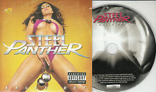 STEEL PANTHER Balls Out 2011 UK 14-track watermarked & numbered promo CD