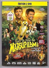 DOUBLE DVD / SUR LA PISTE DU MARSUPILAMI - JAMEL DEBBOUZE , ALAIN CHABAT