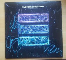 TWO DOOR CINEMA CLUB SIGNED GAMESHOW VINYL LP COA auto proof