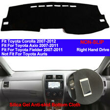 For Toyota Corolla Axio Fielder 2007 - 2011 Dashboard Cover Dash Mat Dashmat Pad