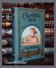 Charlotte's Web & Other Classics New Sealed Leather Bound Collectible Edition
