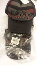 BILLABONG BLACK DISSECT TRUCKER CAP / HAT ONE SIZE BNWT