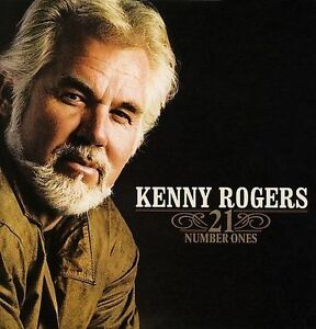 KENNY ROGERS  - 21 Number Ones CD ***NEW SEALED**** GREATEST HITS VERY BEST OF