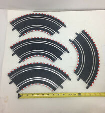 Scx 1/43 Compact (4) 90 Degree Standard Inner Curve Track Pieces Scx70090