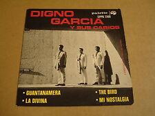 45T EP PALETTE / DIGNO GARCIA Y SUS CARIOS - GUANTANAMERA