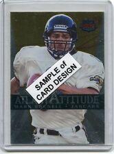 1998 Skybox Premium Autographics Black #KEMC Keenan McCardell Auto Football Card Verzamelkaarten, ruilkaarten Verzamelingen