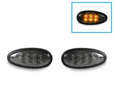DEPO JDM Smoke Amber LED Side Marker Lights For 02-03 Mitsubishi Lancer OZ Rally