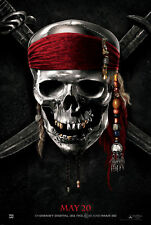 Pirates of the Caribbean 4 - A3 Film Poster-FREE UK P&P