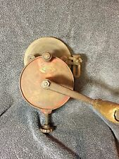 Vintage Hand Crank Bench Grinder Made By Modern Grinder Milwaukee