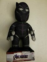 "NIP Marvel Comics Black Panther 10"" Plush Figure A Superhero for Play or Display"