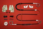 BMW Serie 3 E46 ELEVALUNAS Juego de reparación + CLIPS DELANTERO IZQUIERDO 01-05