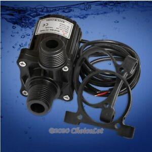 DC24V Brushless Motor Water Pump Micro Solar Pump 6m Max Head&960L/H Max Flow