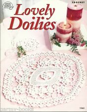 Lovely Doilies Crochet Pattern Instructions Pineapple Flower 2004 ASN 1363 NEW