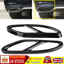 Exhaust Tip Pipe Muffler Cover  for Mercedes Benz GLC C E-Class C207 Coupe 14-17