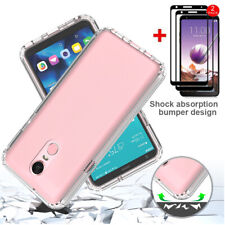 For LG Stylo 4/Q Stylus Phone Case Shockproof Hybrid Cover/Full Screen Protector