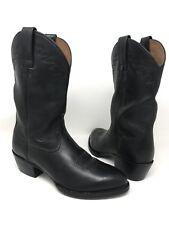 Ariat Black Leather Western Cowboy Farm Ranch Boots Style#34601 Men Size 8 D