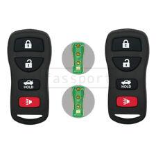 2New Remote Control Key Case fit for INFINITI NISSAN KBRASTU15 Remote Fob 4 BTN