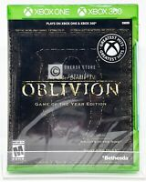 The Elder Scrolls IV: Oblivion Game of the Year Edition Xbox One / Xbox 360 New