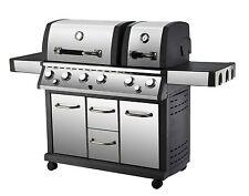 "Gasgrill ""AURORA"" von El Fuego® 6 + 2 Brenner Grill Smoker Infrarotbrenner BBQ"