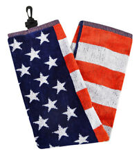 New Hot Z USA American Flag Golf Towel