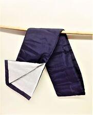 Plain blue-white silk sword bag iaito iaido kendo shinken japanese carry bag