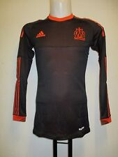 OLYMPIC MARSEILLE L/S PLAYER ISSUE 2012/13  TECHFIT 3RD SHIRT BY ADIDAS ADULT XL