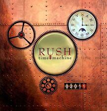 RUSH 2011 TIME MACHINE TOUR CONCERT PROGRAM BOOK / NEAR MINT 2 MINT