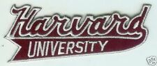 "HARVARD UNIVERSITY CRIMSON NCAA COLLEGE 4.25"" SCRIPT PATCH"