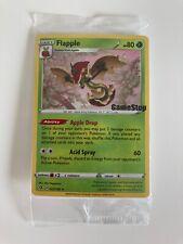 Pokemon Flapple 022/192 Rebel Clash Gamestop stamp promo sealed mint