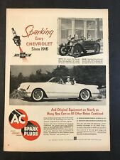 1953 AC Spark Plugs   - Chevrolet Engines