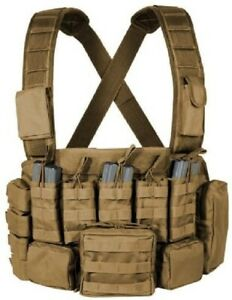 Voodoo Tactical Vest Chest Rig Gear Removable Pouches w/ Padded Straps 20-9931