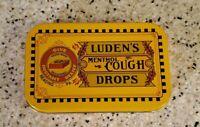 Luden's Menthol Cough Drops Vintage Style Authentic Reproduction Pocket Tin