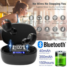 Wireless Earbuds Sweatproof Bluetooth 5.0 Tws In Ear Mic Stereo Headphone Air