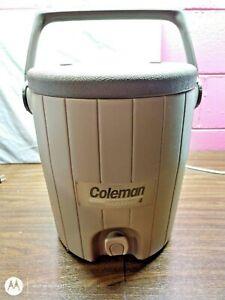 COLEMAN 3 Gallon Beverage Cooler Dispenser with Box NOS