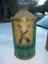 Tough Krueger Cream Ale *Irtp* Quart Cone Top Beer Can Newark,Nj