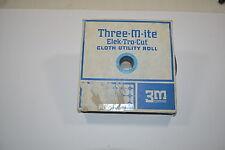 """New 220x 3M THREE-M-ITE ELEK-TRO-CUT Cloth Utility Roll 05005 1""""x50yds  WR.13bA5"""