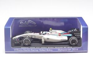 Spark 1:43 WILLIAMS FW36 V. BOTTAS MALAYSIA GP 2014 Suzuka Limited